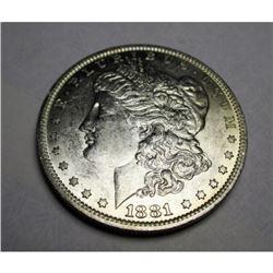 1881 o Better Date BU Grade Morgan Dollar
