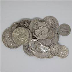 $5 Face Value 90% Silver Random Type