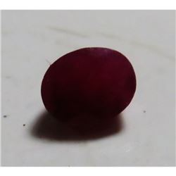 1.5 ct. Natural Red Ruby Gemstone
