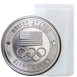 20 pcs. 1 0z. Olympic Silver Rounds