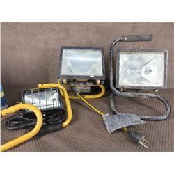 3 - Portable Work Lights
