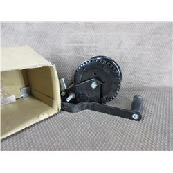 Boat Winch No Cable Appears New