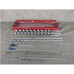 Tool Tray with Long Drill Bits
