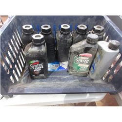 6 Litres of Castrol Dexron-III Transmission Oil & Other Oil