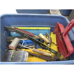 Tub of Misc. Tools