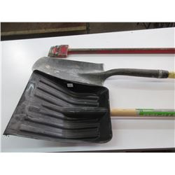 Track Shovel, Snow Shovel & Floor Scraper