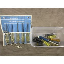 Selection of Screw Drivers