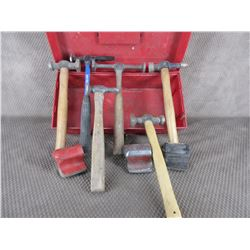Autobody Hammers, Dollies & Tool Box