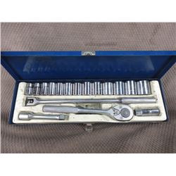 "Challenger 1/2"" Drive Set 7/16"" to 1 1/4"" Socket Set"