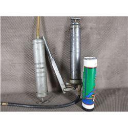 Grease Gun, 1 Tube Grease & Suction Oil Gun