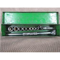 3/8 Drive Socket Set in Metal Box