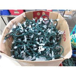 2 Boxes of White Christmas Lights