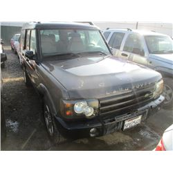 LAND ROVER DISCOVERY 2004 T