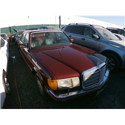 MERCEDES 420SEL 1989 T-DONATION