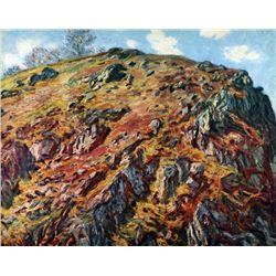 Claude Monet - The Boulder