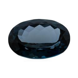 44.91 ct. Natural Oval Cut London Blue Topaz