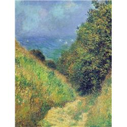Claude Monet - Pourville #2