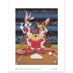 At the Plate (Reds) by Looney Tunes