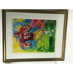 End Around by LeRoy Neiman (1921-2012)