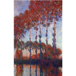 Claude Monet - Poplars