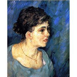 Van Gogh - Portrait Of Woman In Blue