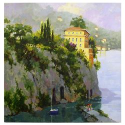 "Marilyn Simandle, ""Amalfi"" Limited Edition on Canvas, Numbered and Hand Signed w"