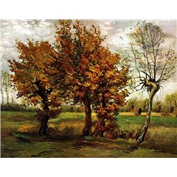 Van Gogh - Autumn Landscape With Four Trees