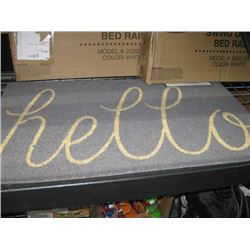 DII IMPORTS hello ENTRANCE MAT