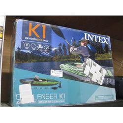 INTEX K1 ONE PERSON SIT IN KAYAK