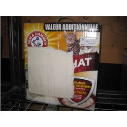 40LBS ARM AND HAMMER CAT LITTER