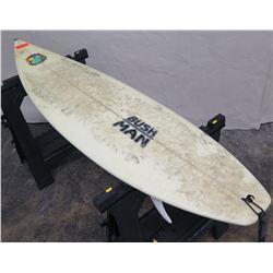 6' Bush Man Cosmic Revolution Signed Short Surfboard