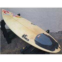"6'4"" DaKine The Search Rip Curl Short Surfboard"