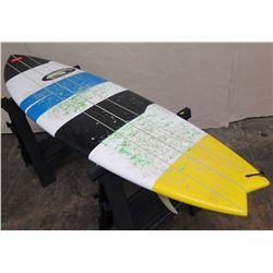 """6'10"""" Moku Hawaii Surfboard"""