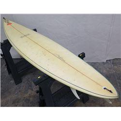 """7'4"""" Signed Steve Wilson Surfboard"""