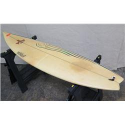 """6'6"""" Signed Y. Umeda PowerDrive Short Surfboard"""