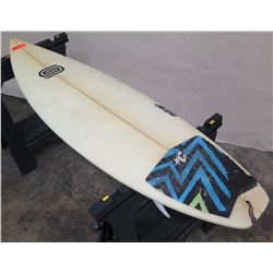 "5'6"" Signed Sauritch EPrO Short Surfboard"