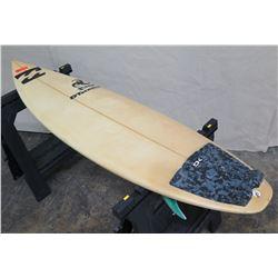 """5'10"""" DTatsumo Hawaii 'rage' Surfboard"""