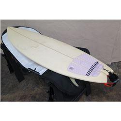 "6'2"" Arakawa Bandit Signed Short Surfboard"