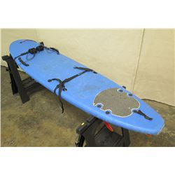 "7'10"" Blue Foam Surfboard w/ NOCQUA LED Lighting System"