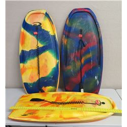 "Qty 3 Boogie Boards IMS Ali'i Nui 47"" Long"