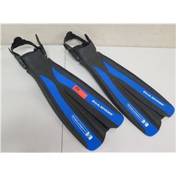 Qty 2 US Divers HydroForce Long Dive Fins
