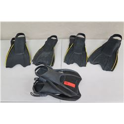 Qty 6 Sea Sport Swim Fins