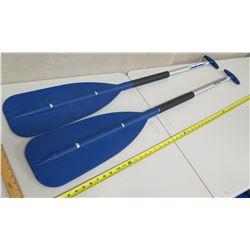 Qty 2 West Marine 4' Aluminum Paddles