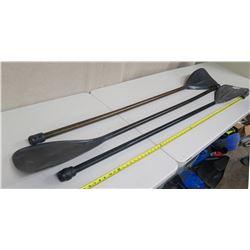 Qty 3 Moku Stand-Up SUP Paddle (no handles)