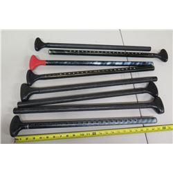 Qty 8 Standup Paddle Shafts w/ Handles