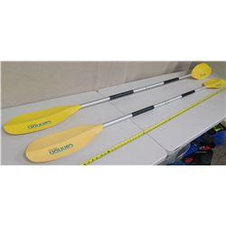 "Qty 2 Cannon 7'4"" Kayak Paddles"
