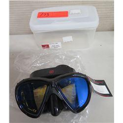 New HammerHead Ultra Clear Mask in Case (Retail $85)