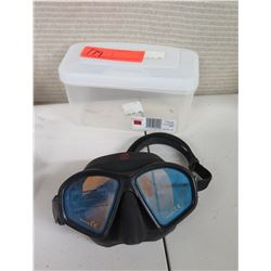 New HammerHead Ultra Clear Mask in Case (Retail $80)