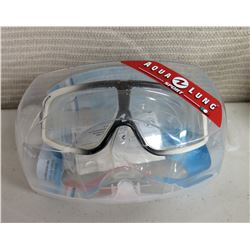 New Aqua Lung Sport Sphera LX Arct. Clear Mask in Case