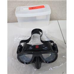 New HammerHead Ultra Clear Mask in Case (Retail $65)